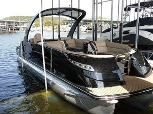 Used Harris Crowne 250 Pontoon Boat For Sale