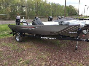 New Crestliner 1700 Storm1700 Storm Bass Boat For Sale
