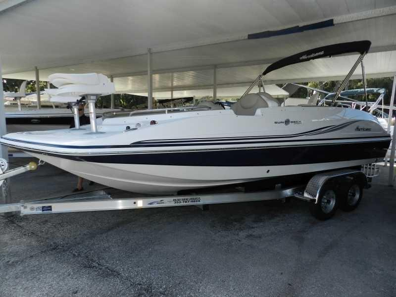 2015 new hurricane sundeck sport 202 ob deck boat for sale for Hurricane sundeck for sale