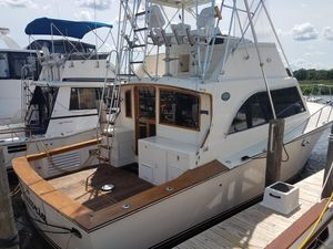 Used Pace 40 Sport Fisherman Convertible Fishing Boat For Sale