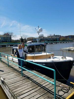 Used Ranger Tugs R31 Sedan W/ Trailer & Tender Cruiser Boat For Sale