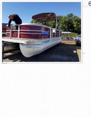 Used Montego Bay C8522 DLX Pontoon Boat For Sale