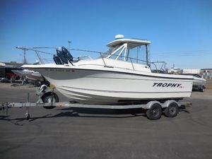Used Trophy 2152 WA HT2152 WA HT Aluminum Fishing Boat For Sale
