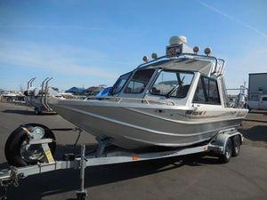 Used Thunderjet 21 Alexis HT21 Alexis HT Aluminum Fishing Boat For Sale