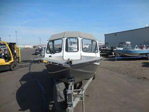 Used Thunderjet Envoy JetEnvoy Jet Aluminum Fishing Boat For Sale