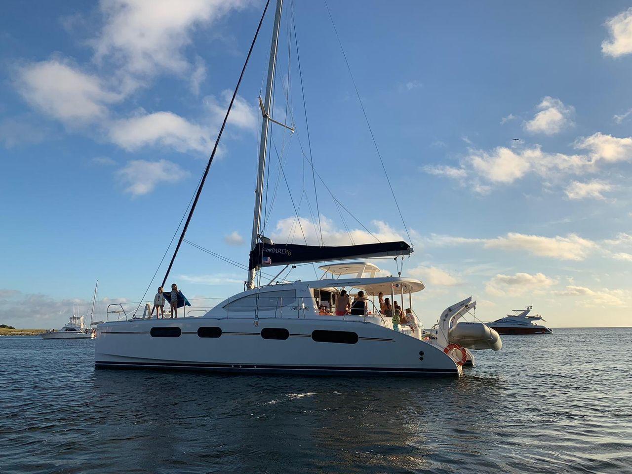 2012 Used Leopard 46 Catamaran Sailboat For Sale ...