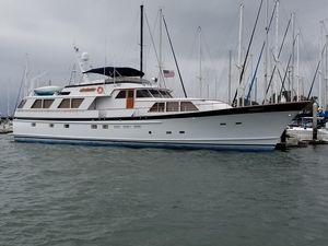 Used Burger Raised Pilot House Motor Yacht For Sale