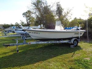 Used American Skiff 17 Coral Bay Center Console Fishing Boat For Sale