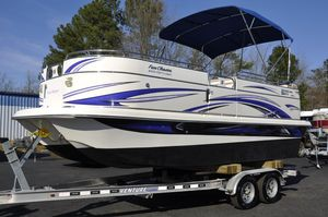 Used Carolina Skiff Fun Chaser 2100 FGP Pontoon Boat For Sale