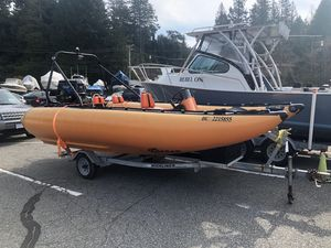 Used Ceasar Thunderbolt Rigid Sports Inflatable Boat For Sale