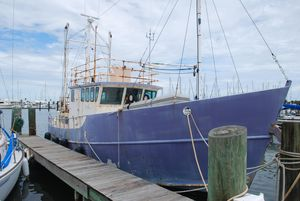 Used Colvin Tom Colvin Designed - Fazzio Built - North Sea Trawler Boat For Sale