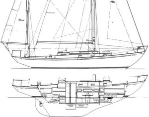 Used Cheoy Lee Rhodes Reliant Yawl Sailboat For Sale