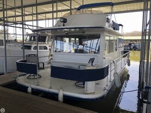 Used Gibson 12 x 36 House Boat For Sale