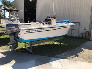 Used Grady-White CC 20 Fisherman Center Console Fishing Boat For Sale