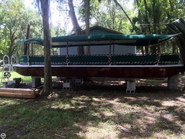 Used Delhi Glass Bottom Tour Boat Commercial Boat For Sale