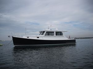 Used Atlantic Duffy Extended Hardtop Cruiser Downeast Fishing Boat For Sale