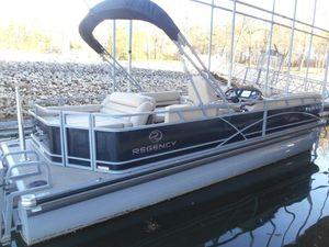 Used Tracker Regency 254 DL3 Pontoon Boat For Sale