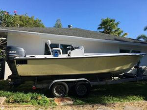 Used Seacraft 20 Potter Hull Center Console Fishing Boat For Sale