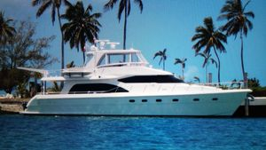 Used Hampton 680 Pilothouse Motor Yacht For Sale