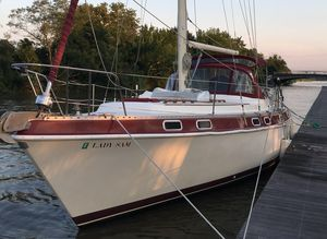Used Morgan Out Island 41 Classic Cruiser Sailboat For Sale