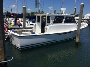 Used Jc 35 Casco Bay Downeast Fishing Boat For Sale