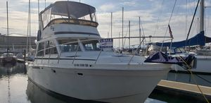 Used Uniflite 38 Convertible Motor Yacht For Sale
