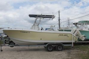 Used Polar 2300 Center Console Center Console Fishing Boat For Sale