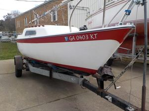Used Cal 21 Daysailer Sailboat For Sale