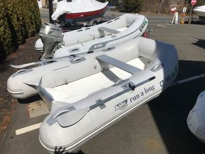 Used Achilles Hb-280lx Rigid Sports Inflatable Boat For Sale