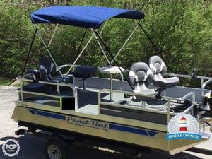 Used Pond-Tini 12 Series Pontoon Boat For Sale