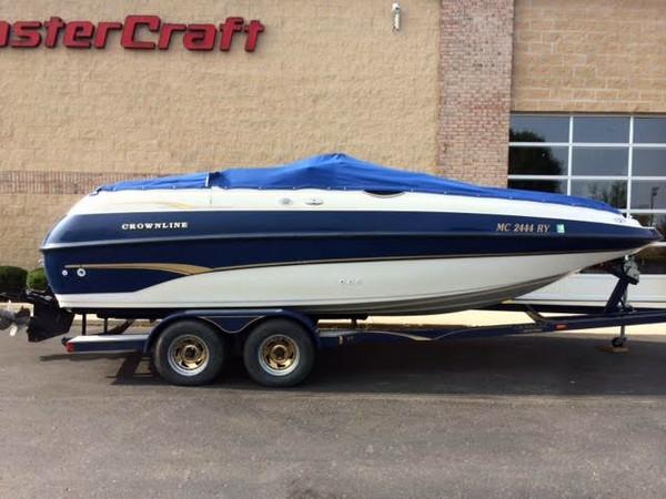 Used Crownline Deck Boat 212 Deck Boat For Sale