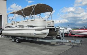 Used Crestliner 2485 LSI2485 LSI Pontoon Boat For Sale