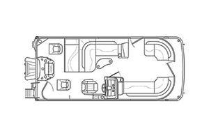 New Bennington 21 SSBXP21 SSBXP Pontoon Boat For Sale