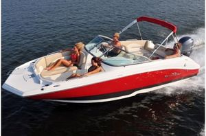 New Nauticstar 223 DC223 DC Deck Boat For Sale