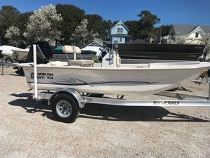 Used Carolina Skiff 16 JVX CC16 JVX CC Center Console Fishing Boat For Sale