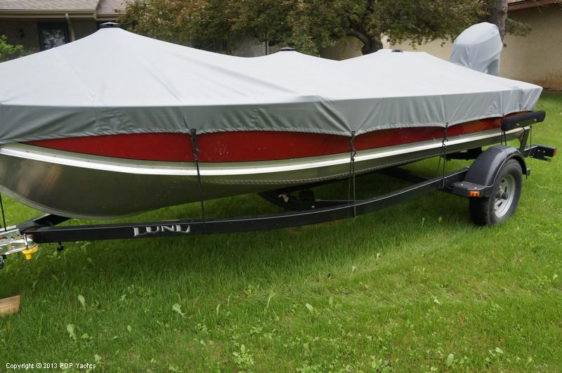 2010 used lund wc 16 dlx aluminum fishing boat for sale for Fishing boats for sale mn
