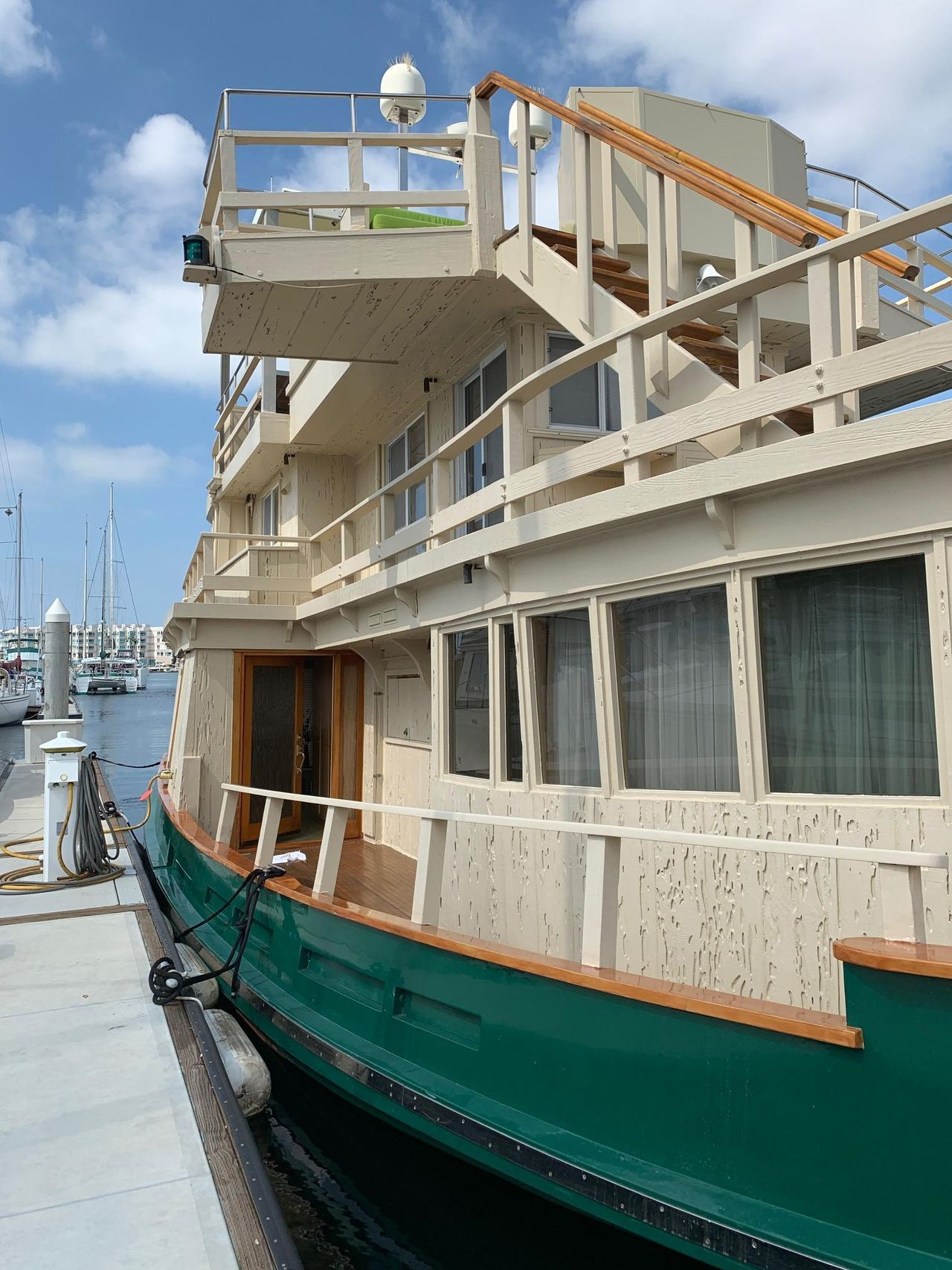 1919 Used Tugboat House Boat For Sale - $795,000 - Marina del Rey
