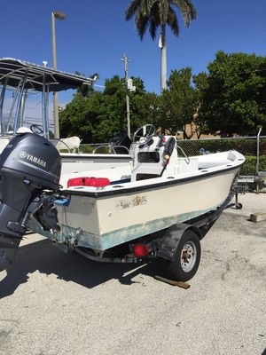 Used Kencraft 1616 Center Console Fishing Boat For Sale