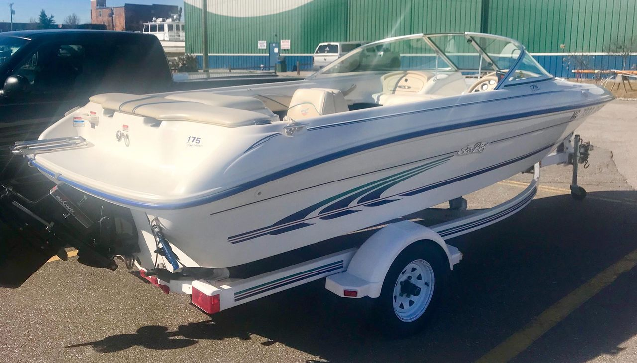 1997 Used Sea Ray 175 Bow Rider Bowrider Boat For Sale - $7,200