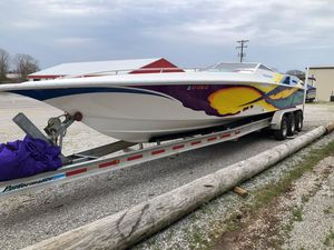 Used Fountain 3333 Runabout Boat For Sale