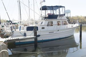 Used Monk 36 Trawler Motor Yacht For Sale