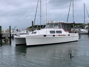 Used Endeavour Catamaran Trawlercat 36 Power Catamaran Boat For Sale