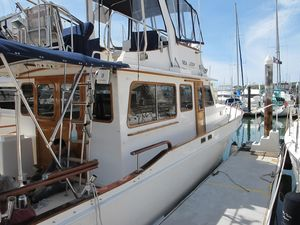 Used Californian 38' LRC Sedan Trawler Boat For Sale