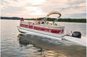 New Sun Tracker PARTY BARGE 22 XP3 w/ Mercury 150Hp 4SPARTY BARGE 22 XP3 w/ Mercury 150Hp 4S Pontoon Boat For Sale