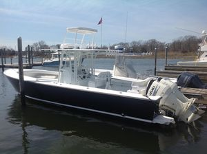 Used Albury Brothers 33 Center Console Saltwater Fishing Boat For Sale