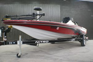Used Tracker Nitro Z-18 Bass Boat For Sale
