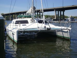 Used Voyage Norseman Catamaran Sailboat For Sale