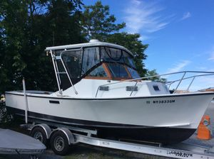 Used Tripp 24 Angler Downeast Fishing Boat For Sale