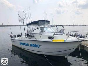 Used Sea Boss 235 WA Walkaround Fishing Boat For Sale