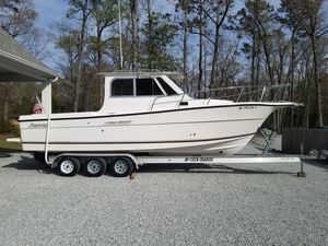 Used Shamrock 270 Mackinaw Cuddy Cabin Boat For Sale